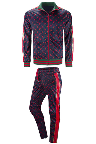 New Men Hip Hop Yin Yang Track Suit