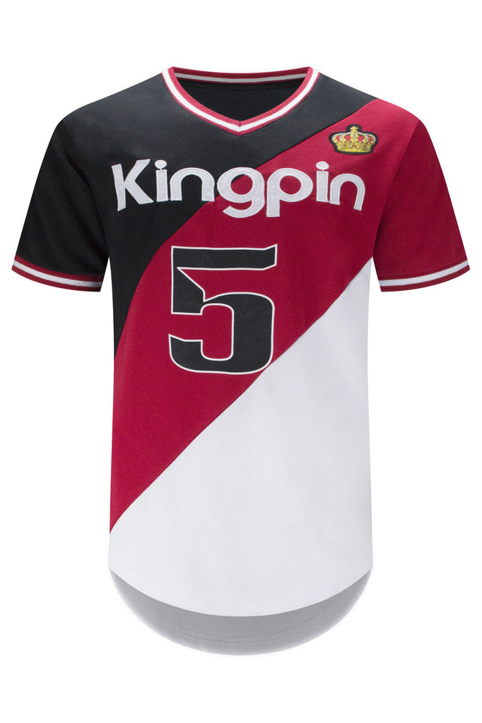 New Men Racing Kingpin Jersey Shirt