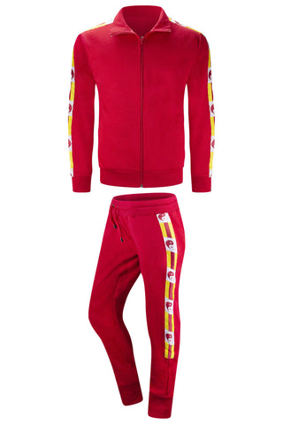 New Men Hip Hop  Yin Yang Simple Track Suit