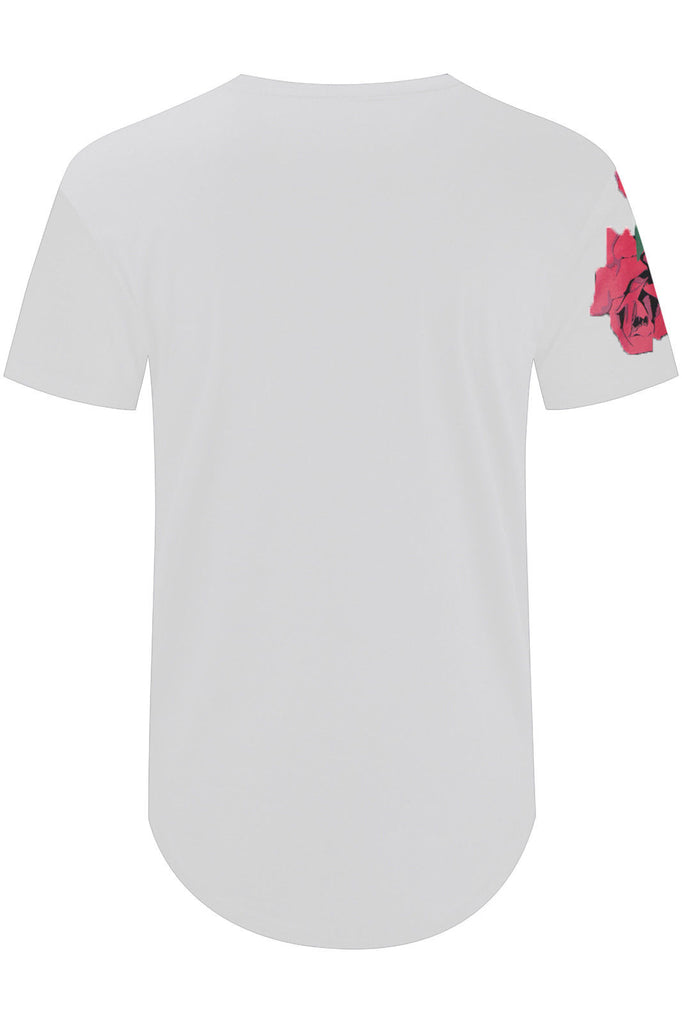 New Men Billionaire Club Flower Print T-Shirt