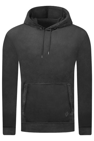 New Men Hooded Velvet Sweater