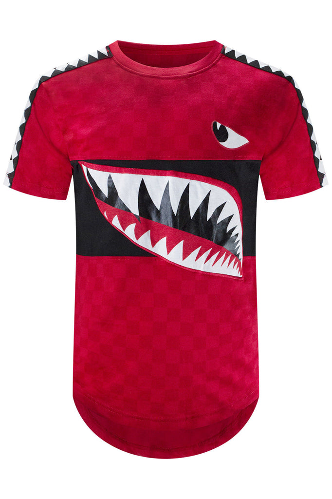 615f4933 New Men Shark Mouth Longline T-Shirt – Trending Apparel