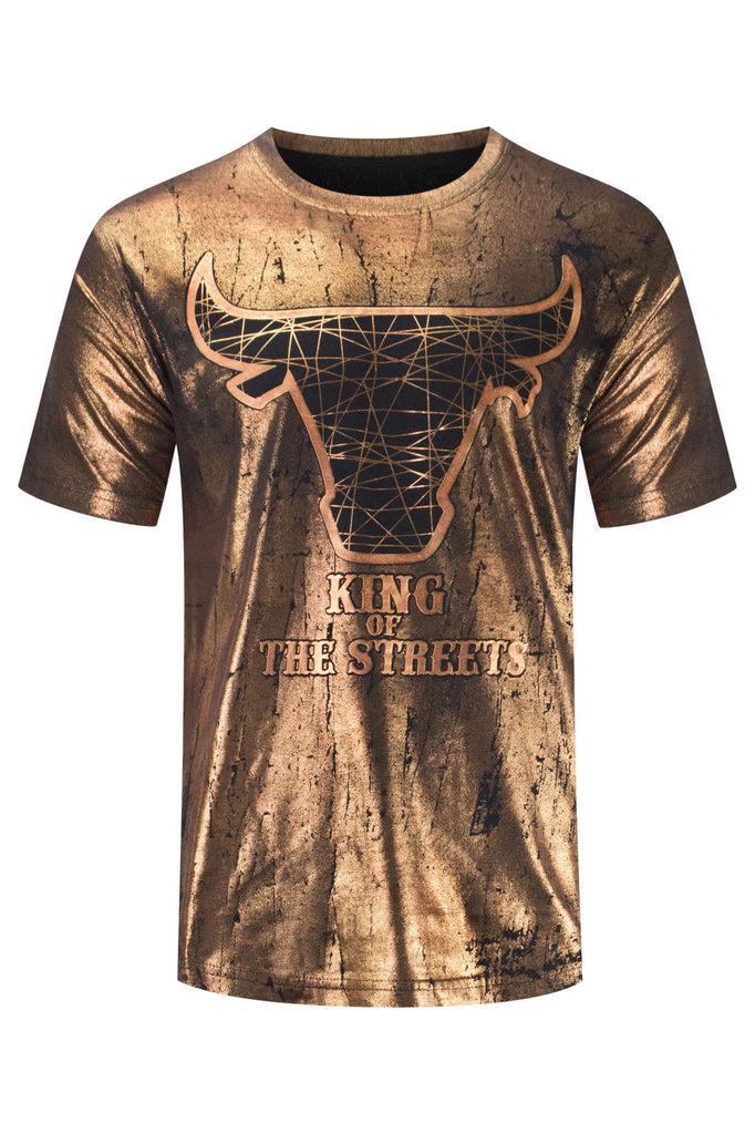 New Men King Of The Streets T-Shirt
