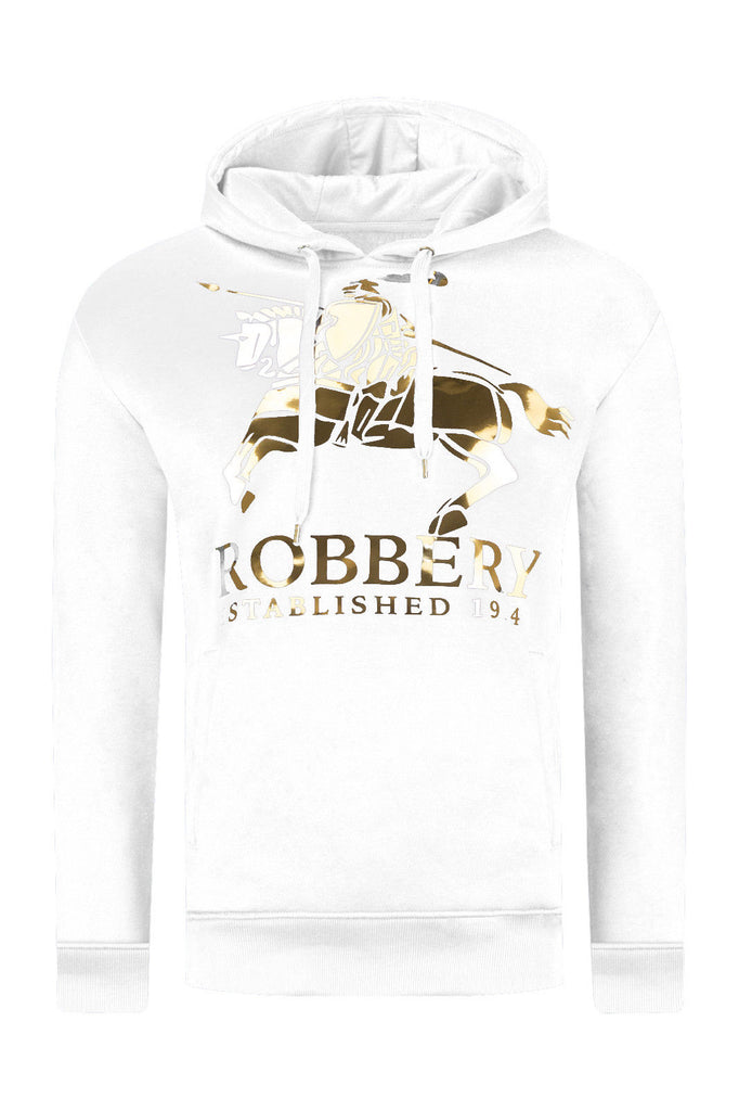 New Men Robbery Establishment Hooded Sweater