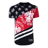New Men USA Bald Eagle Short Sleeve