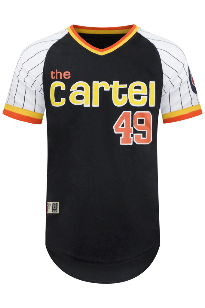 New Men Cartel Pin-Stripe Jersey