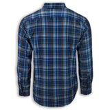 NEW Men Plaid Striped Button Down Dress Shirts Causal Regular Fit Color Buttons