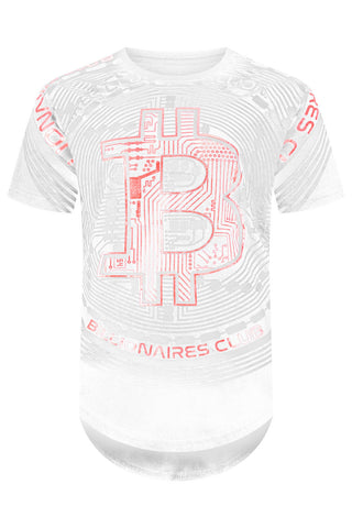 New Men Billionaires Club Bitcoin T-Shirt