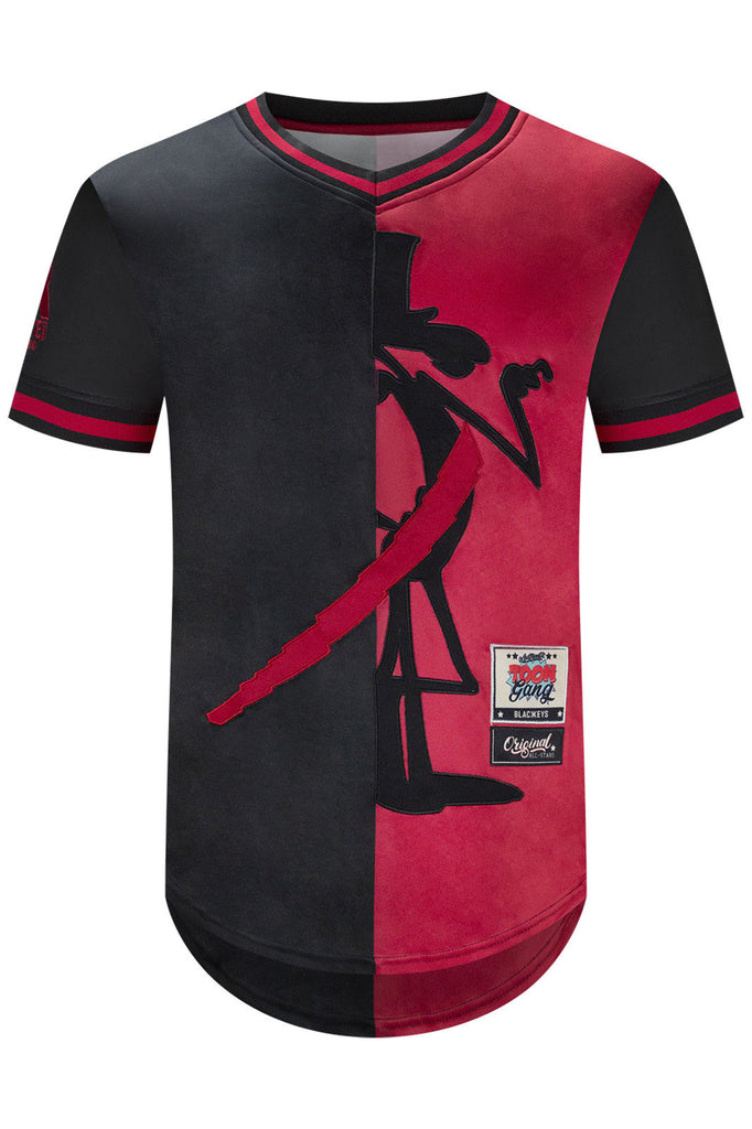 New Men Pink Panther Longline Jersey