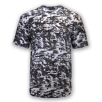 NEW Men Ripped Distressed Shirt Short Sleeve Camo Unique Shirts Rips Holes