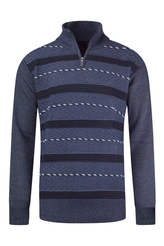 New Men Long Sleeve Henley Sweater