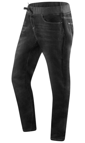 New Denim Jogger Elastic Waist Pants