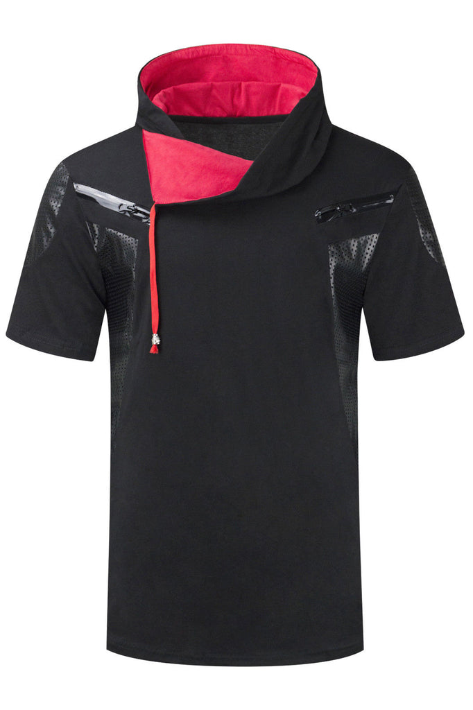 New Men Fashion Hooded T-Shirt