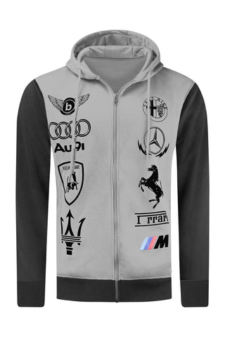 New Men Racing GT Hooded Jacket