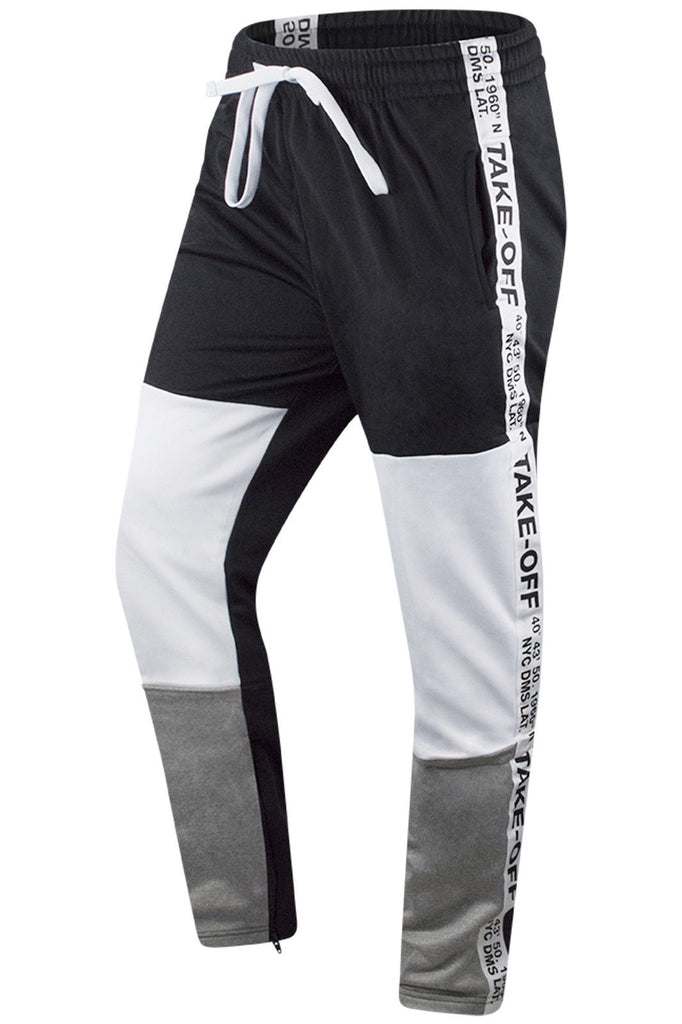 hot-selling real select for genuine good looking New Men Take Off Track Pants Tri-Color Slim Fit – Trending ...