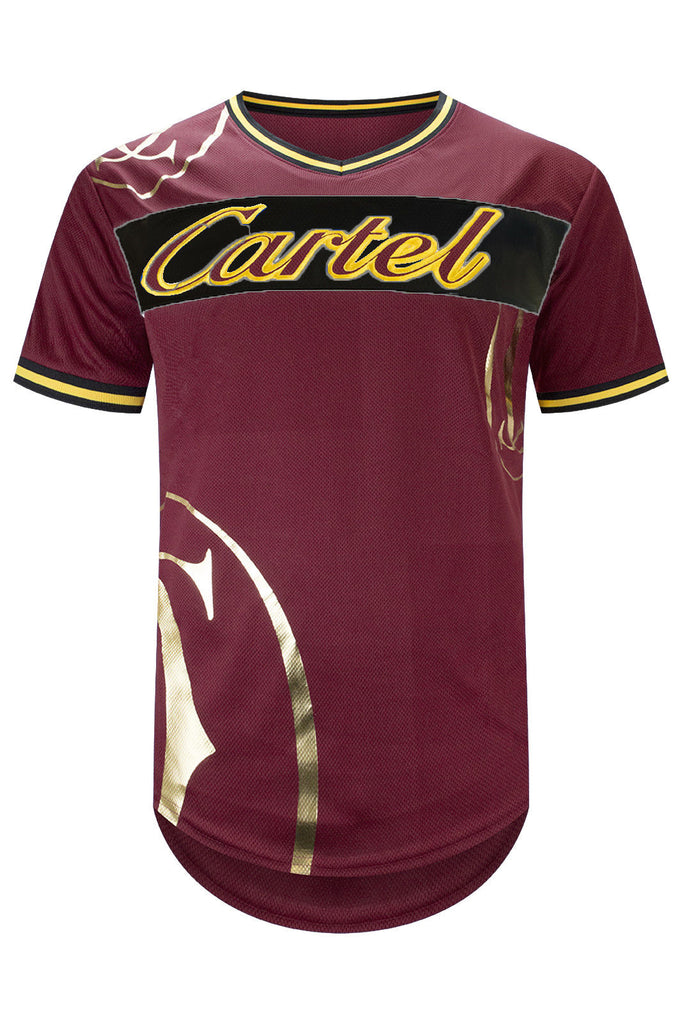 New Men Cartel Longline Jersey