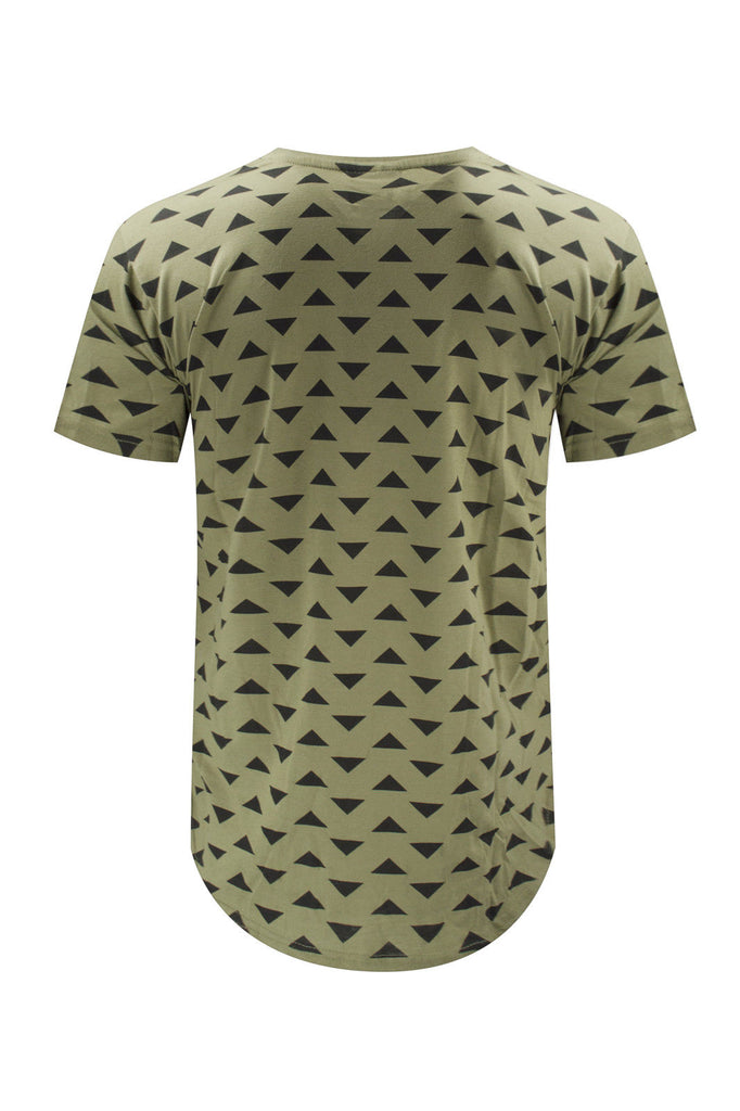 NEW Men Gold Foil Shiny Print T-Shirt Hieroglyphs Egypt Fashion Sizes S-XL
