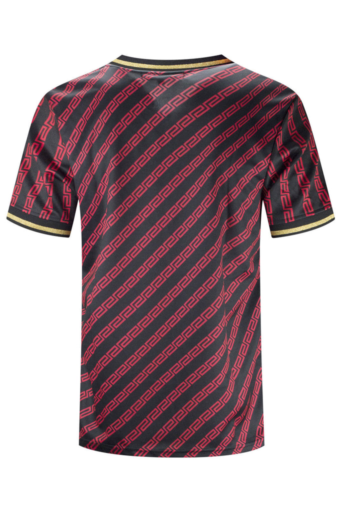 New Men Savage Striped Jersey