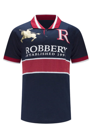 New Men Polo Robbery Henley Shirt