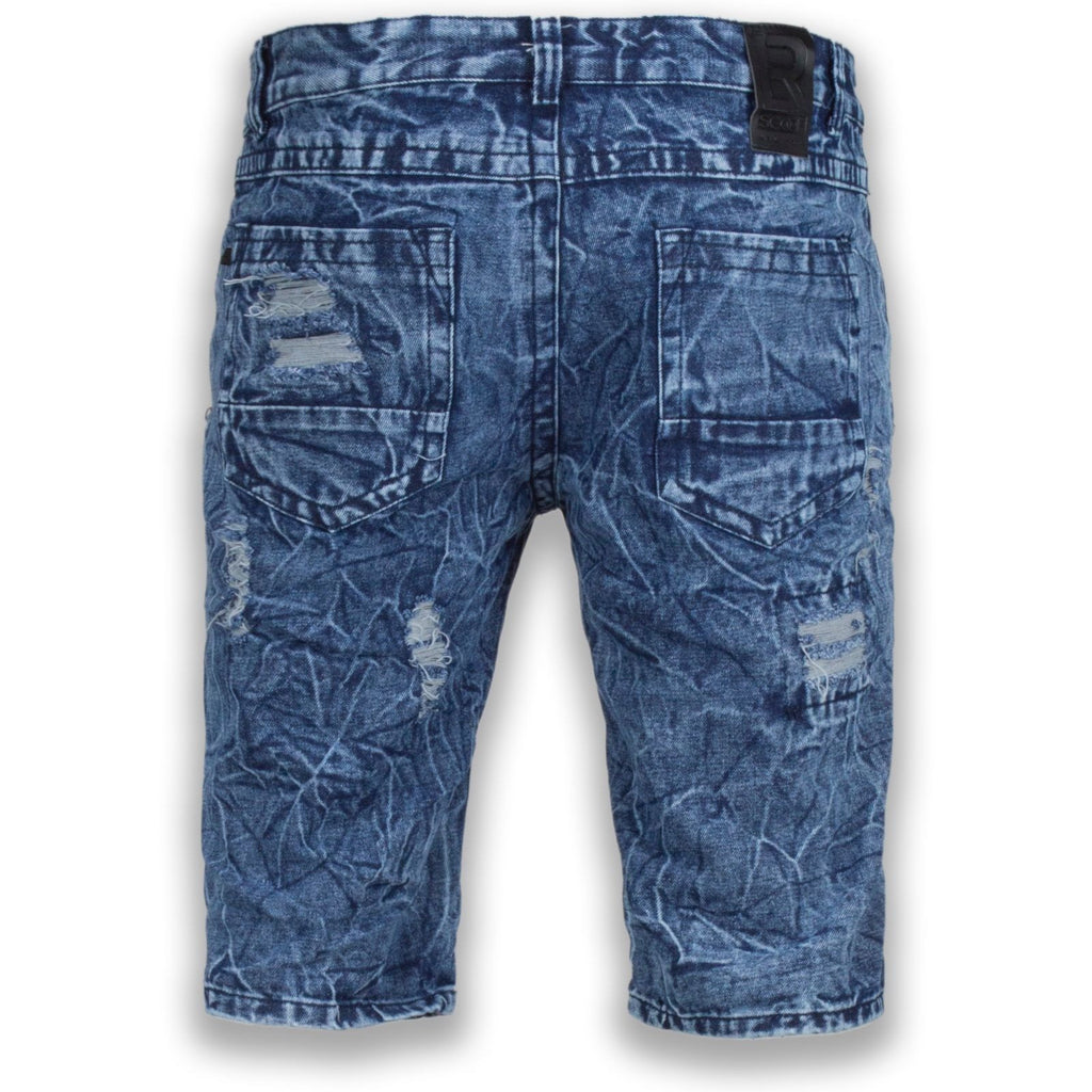 NEW Men Denim Jean Ripped Shorts Distressed