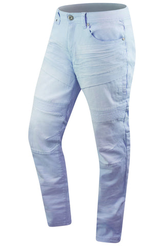 New Men Denim Jeans Skinny Fit Biker Jeans