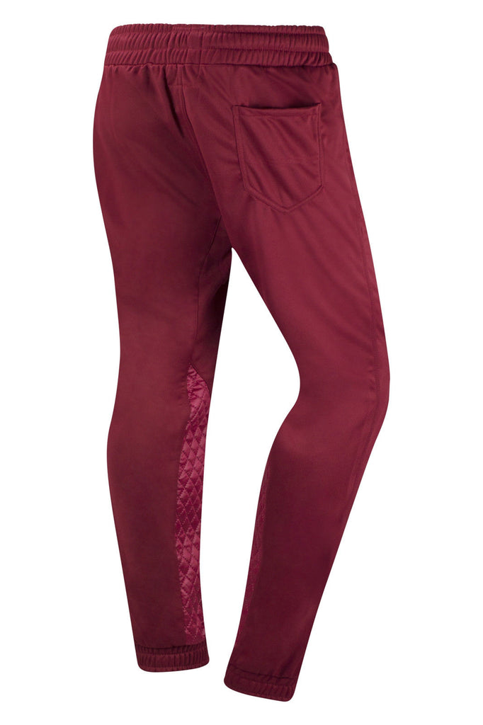 New Men Polyester Quilted Jogger Pants Slim Fit – Trending Apparel : mens quilted pants - Adamdwight.com