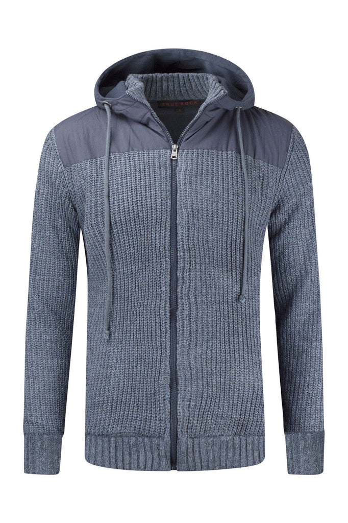 New Men Hooded Woven Jacket