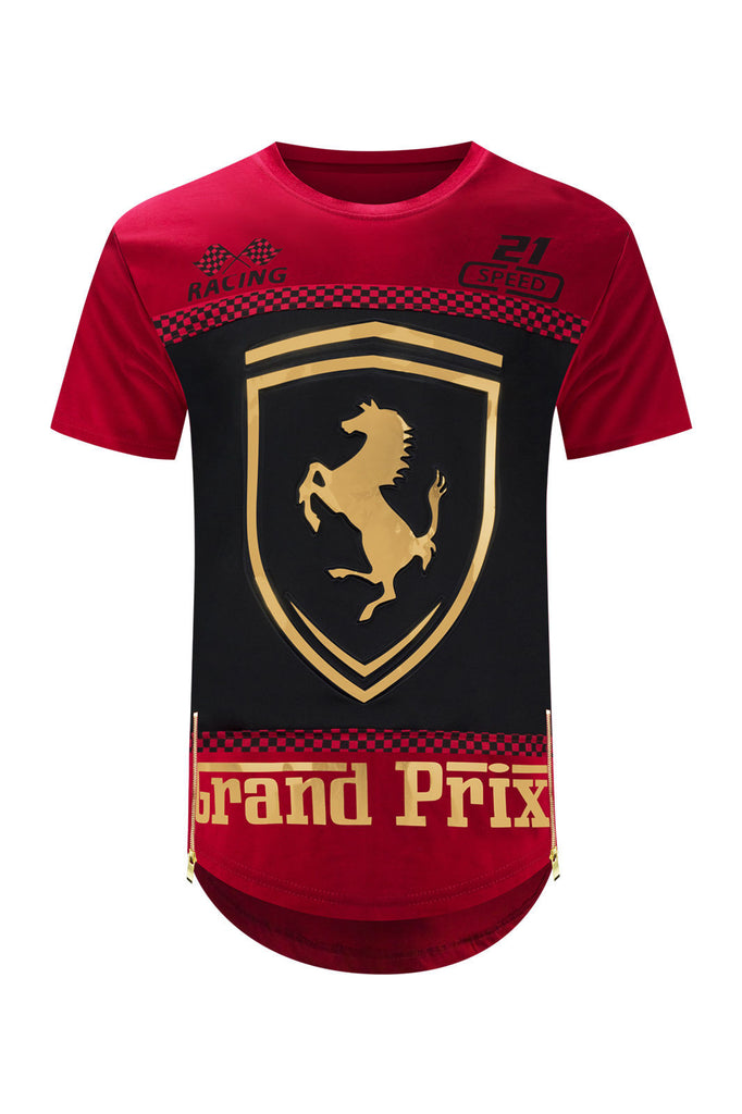 longline grad racing bmw men ferrari elongated tee grand products trending apparel new gt s prix sizes t jersey collections shirts