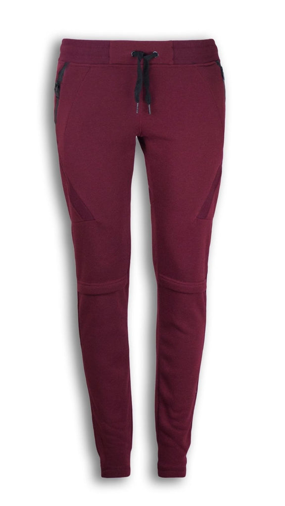 NEW Women Fleece Joggers With Side Zipper Slim Fit Drawstrings Sweatpants Pants