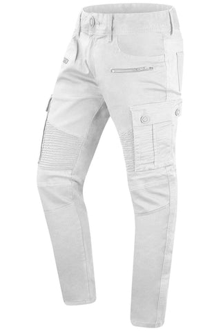 New Men Biker Cargo Slim Fit Jeans