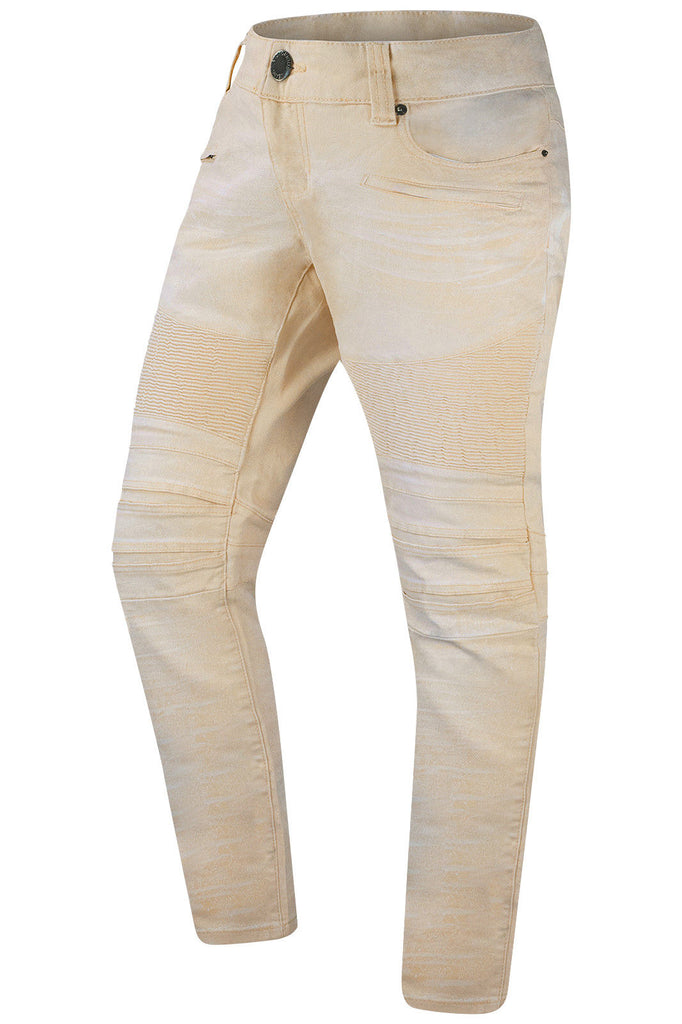 New Men Stretchy Slim Fit Premium Biker Jeans