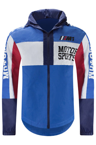 NEW Men Moto Sport Windbreaker Jacket