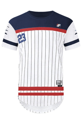 New Men Pin stripe Cartel Jersey