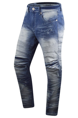 New Men Biker Denim Premium Skinny Jeans