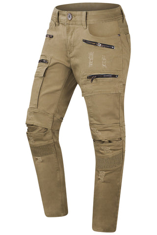 New Men Cargo Premium Denim Jeans