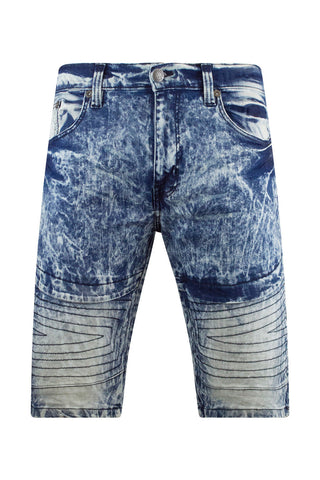 New Men Denim Biker Premium Shorts