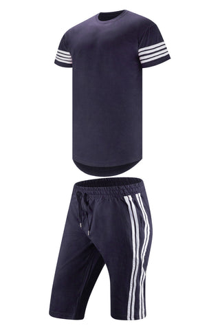 New Men Stripped Track Suit