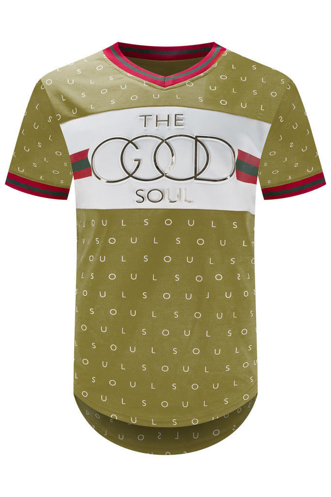 NEW The Good Soul Gold Embossed Slim Fit