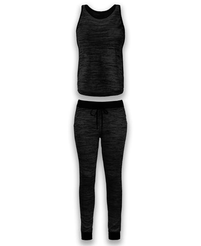 NEW Women Top & Bottom Tracksuit 8 Colors Sizes S-2XL Jogger Pants Drawstrings