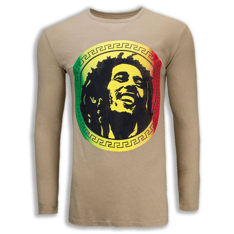 New Men Bob Marley Long Sleeve Shirt