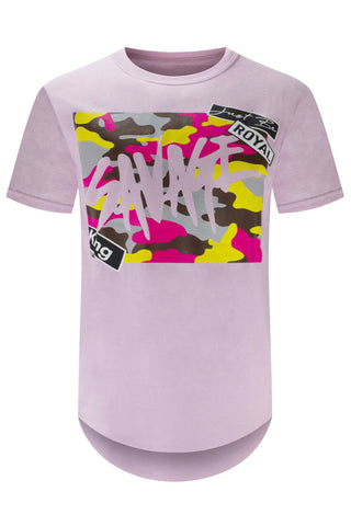 Camo Savage Hip Hop T-Shirt