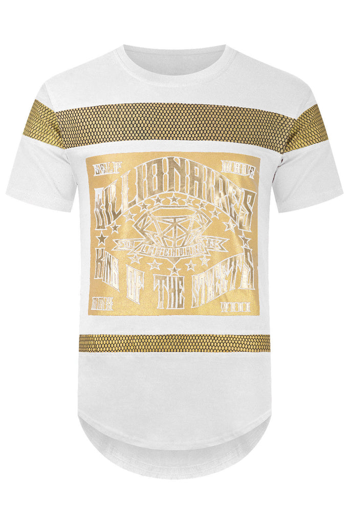 New Men Billionaire Club T-shirt