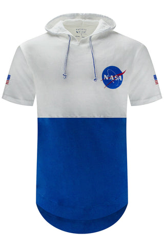 NASA Logo Hooded T-Shirt