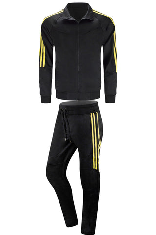 NEW Men Striped Track Suit