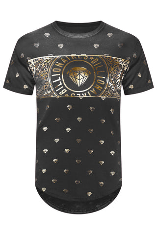 New Men Billionaire Club Gem T-Shirt