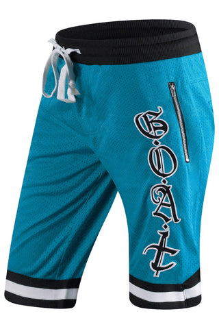 New Men Mesh Basketball GOAT Shorts