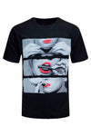 NEW Men Lips Shirt Weed Joint Hot Smoking Weed ALL Sizes Shirts Red Lip
