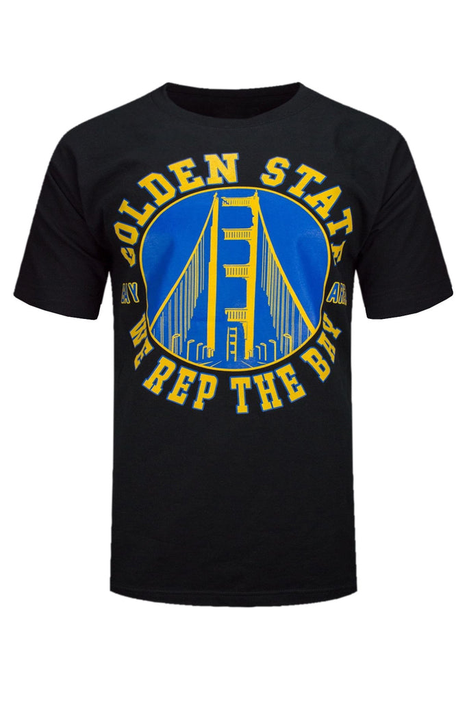 huge selection of 57bec 84734 NEW Men Golden State Warriors Basketball Sports Oakland Cali Shirts Black  Blue