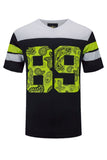 NEW Men Shirt Number 89 Bandana Print