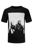 NEW Men Marylin Monroe & Tupac Shirt Black White ALL Sizes Music Celebrities HOT